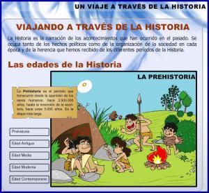 VIAJANDO POR LA HISTORIA